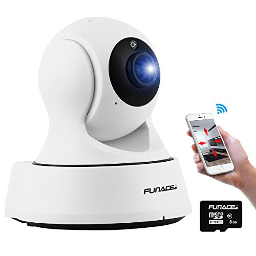 FunAce HD WiFi Camera + 8 GB MicroSD Card