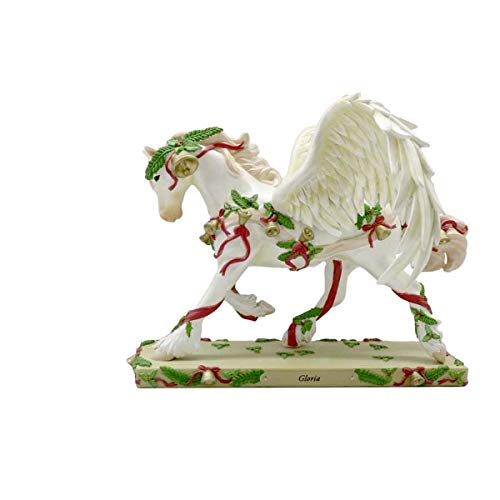 Trail of Painted Ponies Gloria Limited Edition Horse Figurine,Polyresin,7.75 Inches, Multicolor (Angels Singing Glory To God In The Highest)