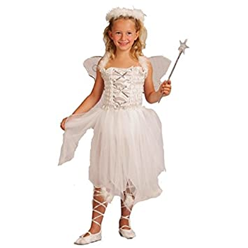 Disfraz de princesa de los ángeles para niña: Amazon.es ...