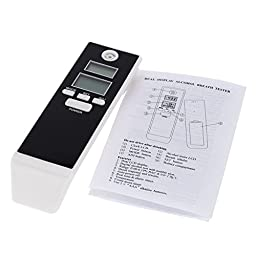 Prefessional Parking Detector Gadget LCD Digital Breath Alcohol Tester with Backlight Breathalyzer Driving Essentials
