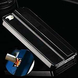 JJE sold out Electronic Rechargeable Cigarette Lighter Case for for iPhone 5/5S(Assorted Colors) , Silver