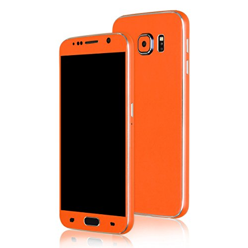 AppSkins Folien-Set Samsung Galaxy S6 Color Edition orange
