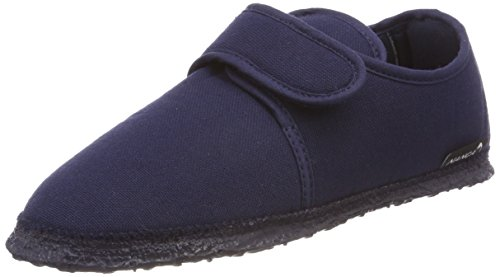 Donna Nanga Blu Pantofole Ottilie 32 dunkelblau Eqqf4vA