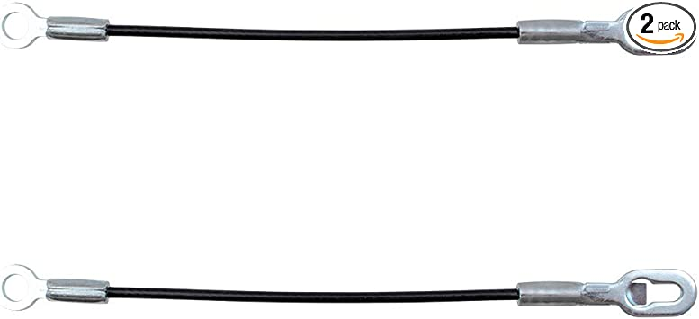 Pair of Tailgate Liftgate Cables Replacement for Cadillac Chevrolet Hummer SUV Pickup Truck 88980509 88980510