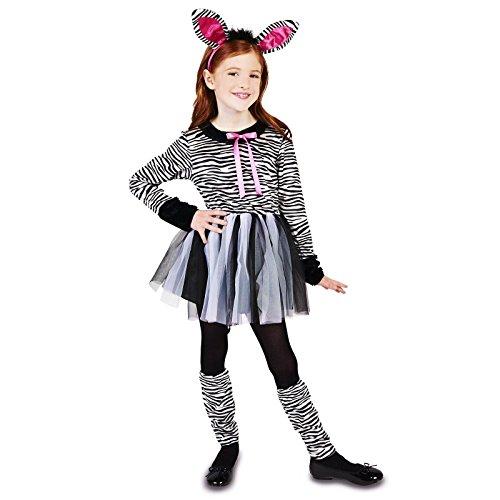 Zebra Girl Child Dress Up Costume S (Child Zebra Costume)