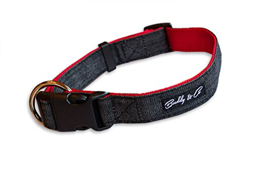buddy-co-classic-denim-nylon-dog-collar-1-width-ideal-for-medium-dogs