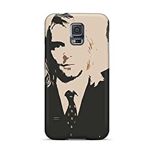 WayneSnook Samsung Galaxy S5 Scratch Resistant Hard Phone Case Custom High-definition Nirvana Image [tBK415iETQ]