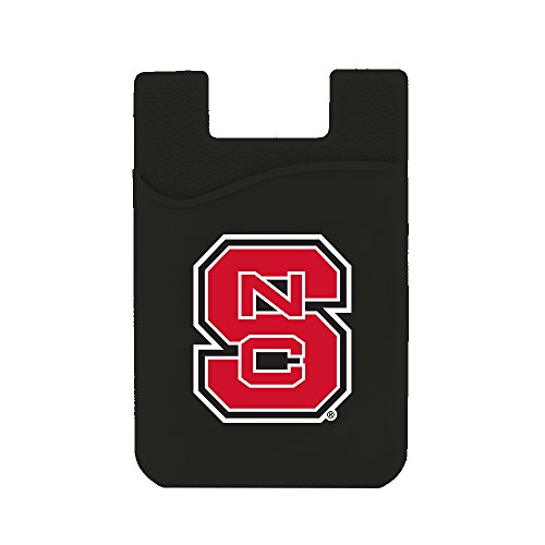 (Guard Dog Card Keeper/Card Holder Silicone Phone Wallet (NC State)