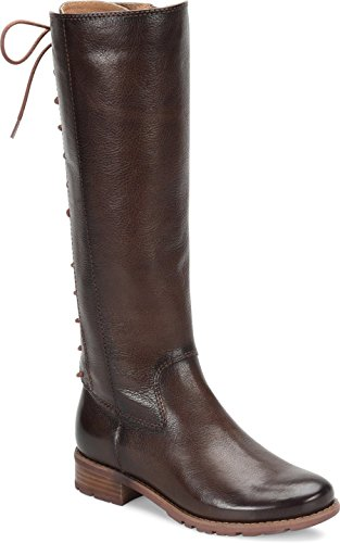 Boots Aztec Brown Womens High Sofft Toe Sharnell Knee Fashion Round 0qgSHwca