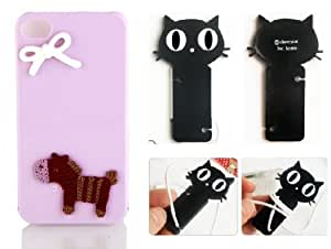 3D Woolen Knit Trojans Bow DIY Handmade Coque Case for Samsung Galaxy Note 2 (Package Included Cord Wrap)