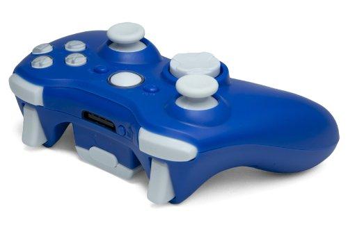 Drop shot, Auto-aim, Jitter Xbox 360 Modded Controller COD MW3, Black Ops  2, MW2, Rapid fire mod (Blue/White)