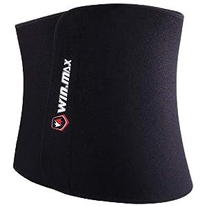 Waist Trimmer Belt,Sweat Wrap,Adjustable Waist Trainer Sauna Belt for Women Men