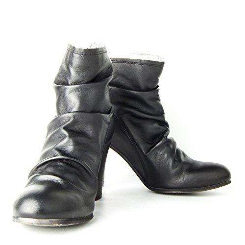 Felmini Lina 8903 - Botas de Piel para mujer Negro negro