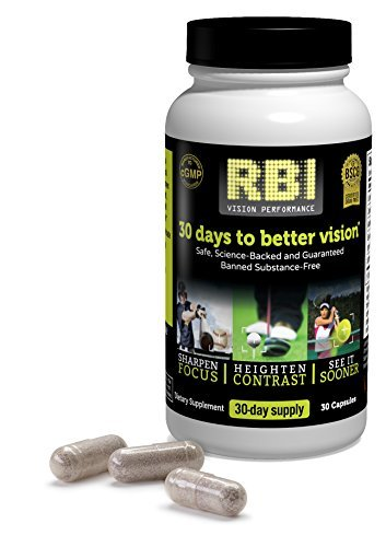 RBI Vision Performance? Nutritional Supplement - 30 Capsules by VisiVite?