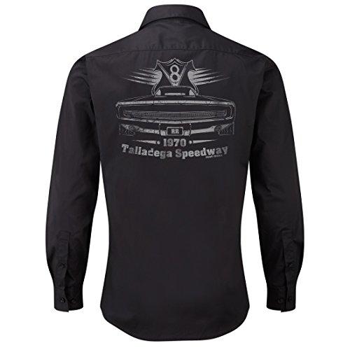 ROAD RODEO Worker Shirt, Langarm Hemd, Rock'n'Roll, V8, US Car, Talladega Speedway