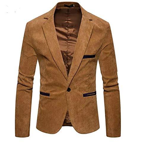 618496bd971 creative concepts Men s Slim fit Party wear Blazer Suede Beige ...
