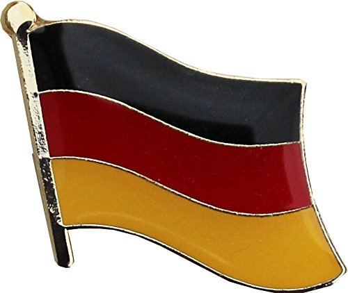 ALBATROS Pack of 50 German Country Flag Lapel Pin for Bike Hat and Cap for Home and Parades, Official Party, All Weather Indoors Outdoors