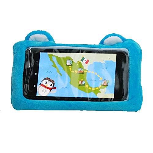 Universal Plush Phone Case for Kids-fits Most iPhone, iPod Touch, and Samsung Devices ()