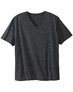 Blues Men's Big & Tall Flex V-Neck Tee