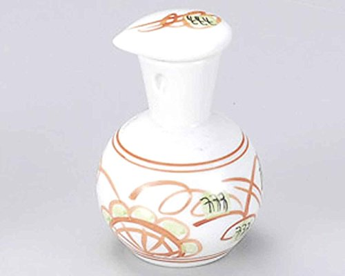 Tansai Flower 2.8inch Set of 10 Soy Sauce Dispensers White porcelain Made in Japan by Watou.asia