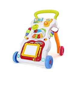 ATTDDP Andador para Bebé,Niños Juguetes Educativos Carro con ...