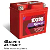 XLTZ5 Exide Sealed Battery for Bikes