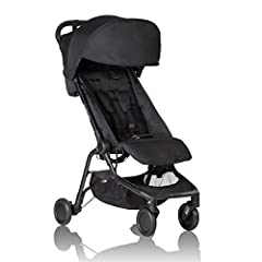 Mountain Buggy Nano is the ultimate travel companion that promises convenience, longevity, an authentic Mountain Buggy experience of ease and maneuverability with first class safety innovation. A stylish and innovative travel stroller, Nano i...