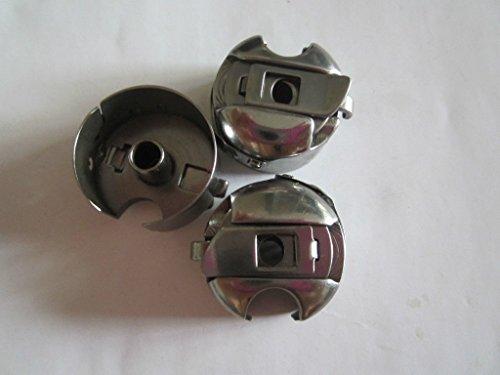 3pcs Industrial Sewing Machine Bobbin Case Juki, Toyota, Brother, Singer (Husqvarna Bobbin Case compare prices)