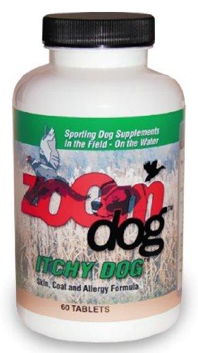 Zoom Dog Itchy Dog Skin, Coat Allergy Formula (60 Tabs)