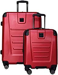 Kenneth Cole Reaction Get Away 2-Piece Expandable Upright Luggage Spinner Set: 25 and 16 Carry On Under Seat...