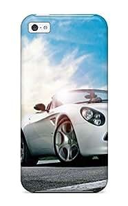 OhTnini5992OMwck Jeremy Myron Cervantes Awesome Case Cover Compatible With Iphone 5c - Alfa Romeo Black Car Model Desktop by icecream design