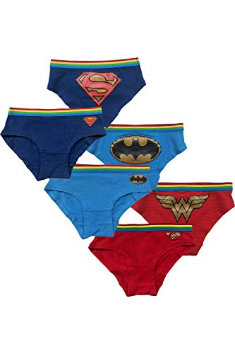 DC Comics 3 Pack Superhero Girls Logo Hipsters, Multi, 4 ()