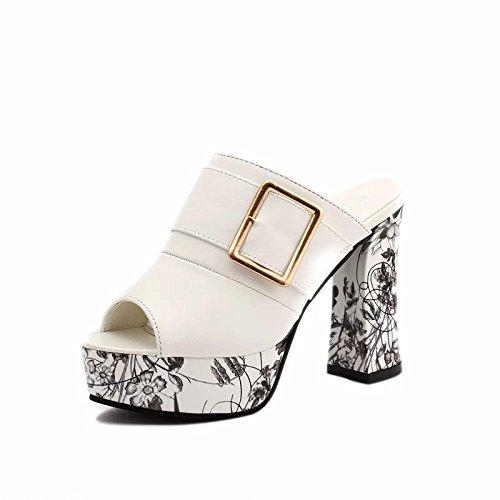 Zapatos Like Impermeable Alto Taiwán Mujer De Grueso Grandes Femeninas Blanco Grueso Zapatos De 8Cm Verano Astilleros Sandalias Ultra Alto De Tacón Sandalias De Mujeres De Mujer Sandalias O GAOLIM De Tacón dwpX8qd