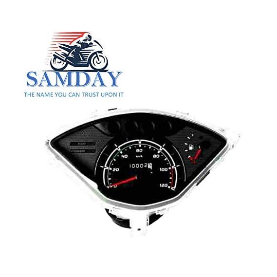SAMDAY Speedometer Compatible for TVS JUPITER 2013 ONWARD- 70507