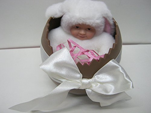 Hearty Anne Geddes Bean Filled Collection Doll Baby White Rabbit Bunny Vintage W/ Tags To Be Distributed All Over The World Art Dolls-ooak Dolls