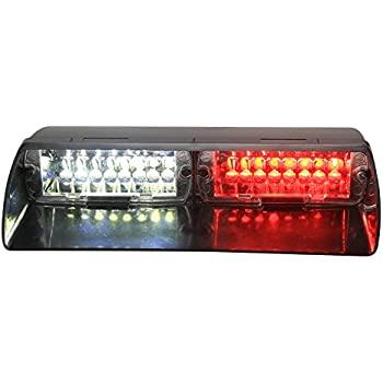 41gDtpXwN6L._SL500_AC_SS350_ amazon com emergency red lights, 6w 6 led strobe flashing dash Physics Strobe Diagram at honlapkeszites.co