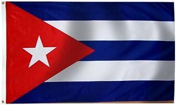 Cuba Flag 3X5 Foot E Poly