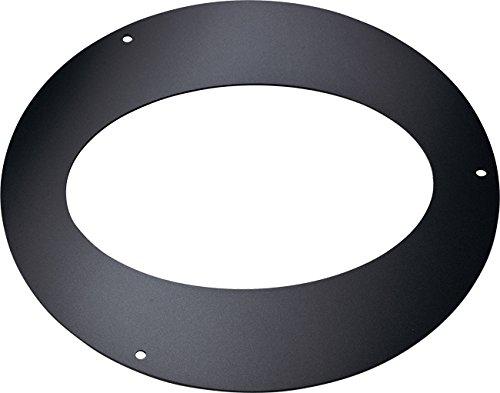 Rosetó n ellittico de acero de acero aluminizado de color negro. SP. MM 1, 2. Para Funció n a 45 ° . Para uso interior. 2. Para Función a 45°. Para uso interior. Apros ø cm 8