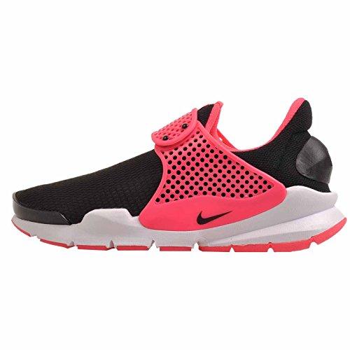 - Nike Kids Sock Dart GS Running Shoe (Black/Racer Pink, 5 Big Kid M)