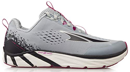 ALTRA Women's Torin 4 Road Running Shoe, Gray/Purple - 8.5 M US