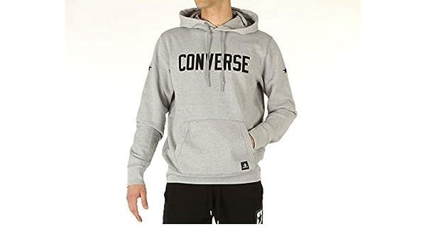 Converse, Hombre, Essential Graphic Jersey Sweat Shirts Hooded, algodón, Sudaderas, Blanco, Hombre, Bianco, XS: Amazon.es: Deportes y aire libre