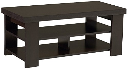 Ameriwood Home Jensen Coffee Table, Espresso
