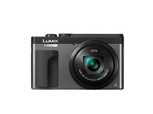 "Panasonic DC-ZS70S Lumix 20.3 Megapixel, 4K Digital Camera, Touch Enabled 3"" 180 Degree Flip-Front Display, 30x Leica DC Vario-Elmar Lens, Wi-Fi with 3"" LCD, Silver"