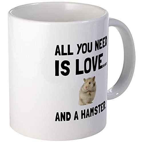 CafePress Love And A Hamster Mugs Unique Coffee Mug, Coffee Cup