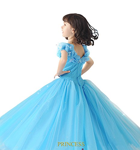 a45463f74d140 Dolly Paraシンデレラ(Cinderella)風 子供 キッズ シンデレラ ドレス コスプレ お誕生日 プレゼント
