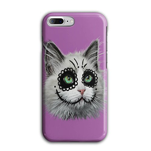 [Halloween Kitty Cat Disguise NEW Black 3D iPhone 7 Plus Case | Wellcoda] (Cute Halloween Names For Kittens)
