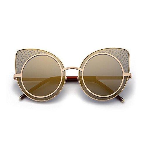 Dot Xinvision UV400 Gafas Mujer Clásico Gold sol Señoras gato Protection Súper de Mod Retro Moda de Polka Tyrantg Ojos Gafas EpEYOqr
