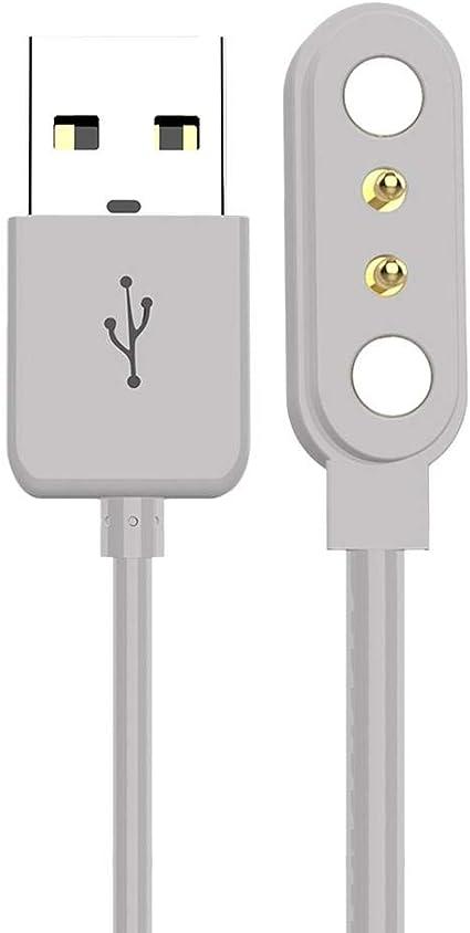 Sunnyushine Intelligentes Uhren Ladegerät Ladekabel Für Smartwatch 2 Polig 2 84 Universal Ladekabel Für Smartwatch Küche Haushalt