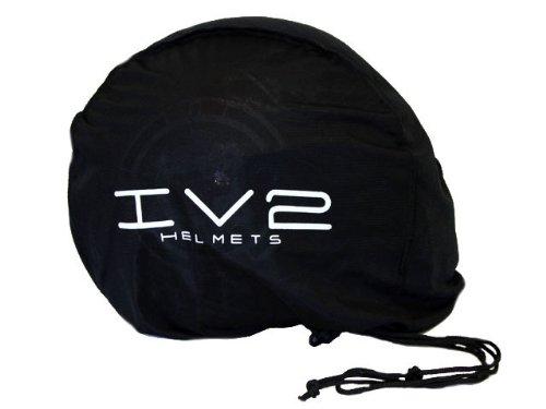 IV2 Bluetooth Compatible Modular Flip up Motorcycle Helmet Matte Black- Model #936 [DOT APPROVED] (Large)