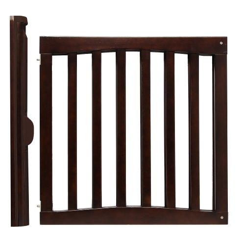 Amazon Com Safety 1st Wooden Swing Gate Espresso Indoor Safety